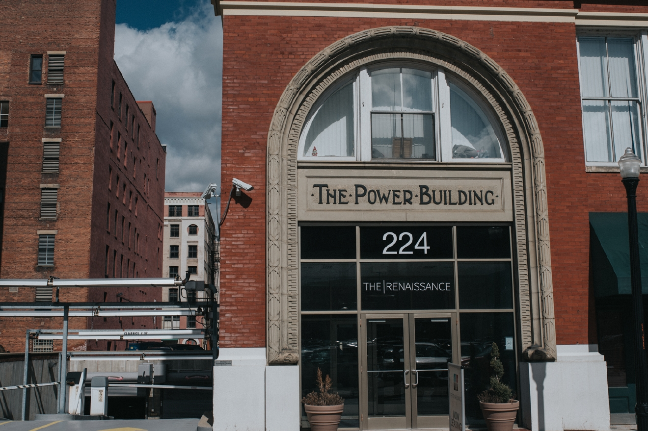 The Power Building was built in 1903 and renovated in 2002 into luxury apartments with plenty of amenities, including most notably a rooftop terrace. / ADDRESS: 224 East 8th Street / Image: Brianna Long // Published: 4.5.17