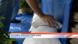 Escambia County residents stocking up on sandbags ahead of Alberto