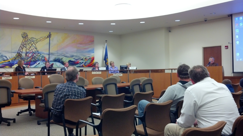 Manitowoc City Council discusses a hiring freeze at its Monday, May 5 meeting.