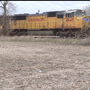 Union Pacific warns against crossing railroad tracks