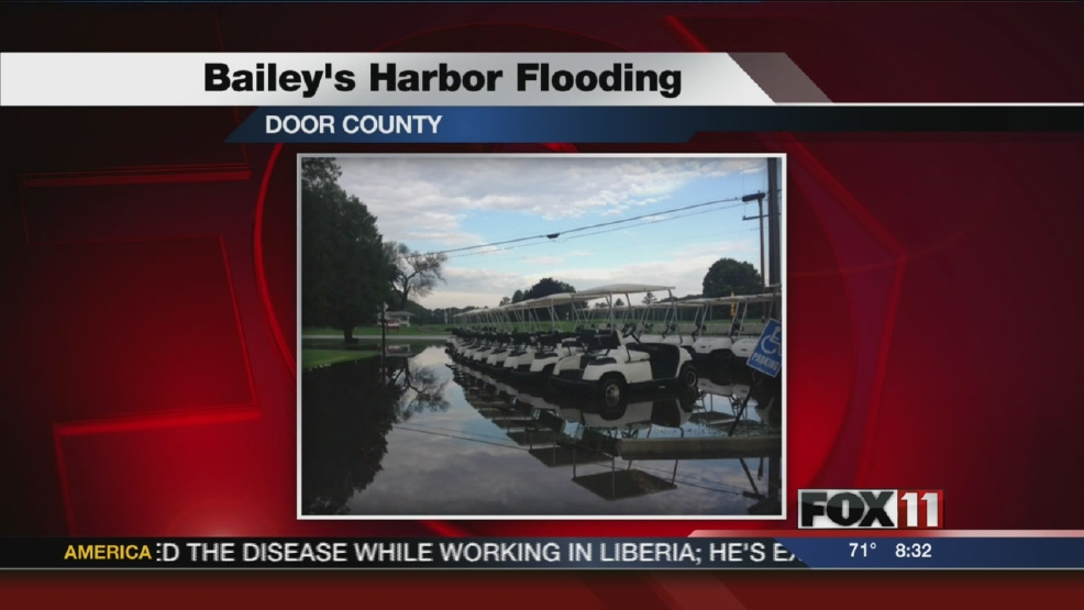 Thumbnail for Baileys Harbor flooding story