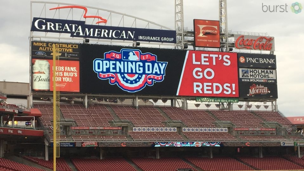 Excitement building at great american ballpark as reds for Great american builders