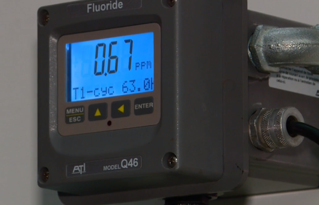 Inside the Southwest Ground Water Treatment Facility in West Jordan, well-calibrated machines are hard at work carefully distributing fluoride to the Salt Lake Valley water supply. (Photo: KUTV)