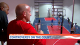 Controversy on the basketball court