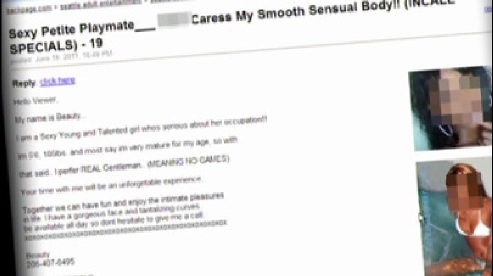 Online sex trade
