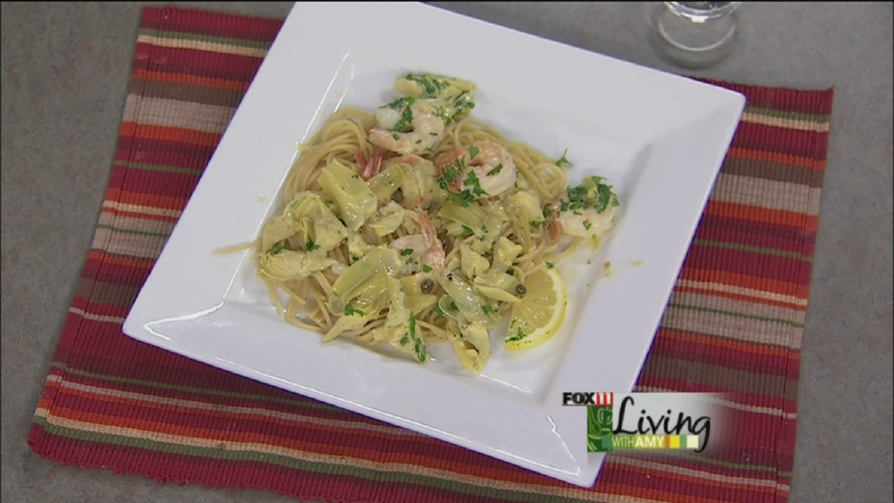 shrimp and artichoke scampi