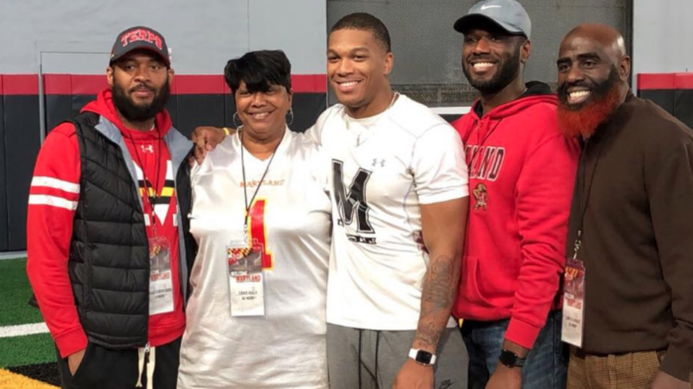release date: 40deb b3aa5 Terps WR D.J. Moore holds center stage at pro day | WJLA
