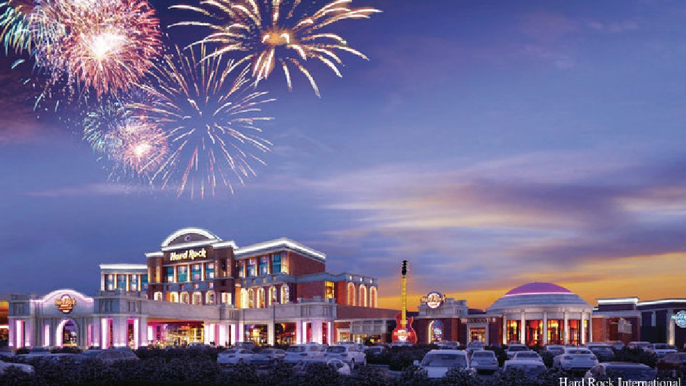Rendering of the Menominee Nation's proposed casino in Kenosha.