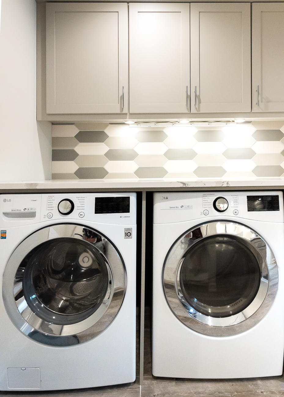 The washer and dryer are LG. / Image: Phil Armstrong, Cincinnati Refined // Published: 6.5.20