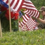 Boy Scouts get veterans cemetery in Institute ready for Memorial Day