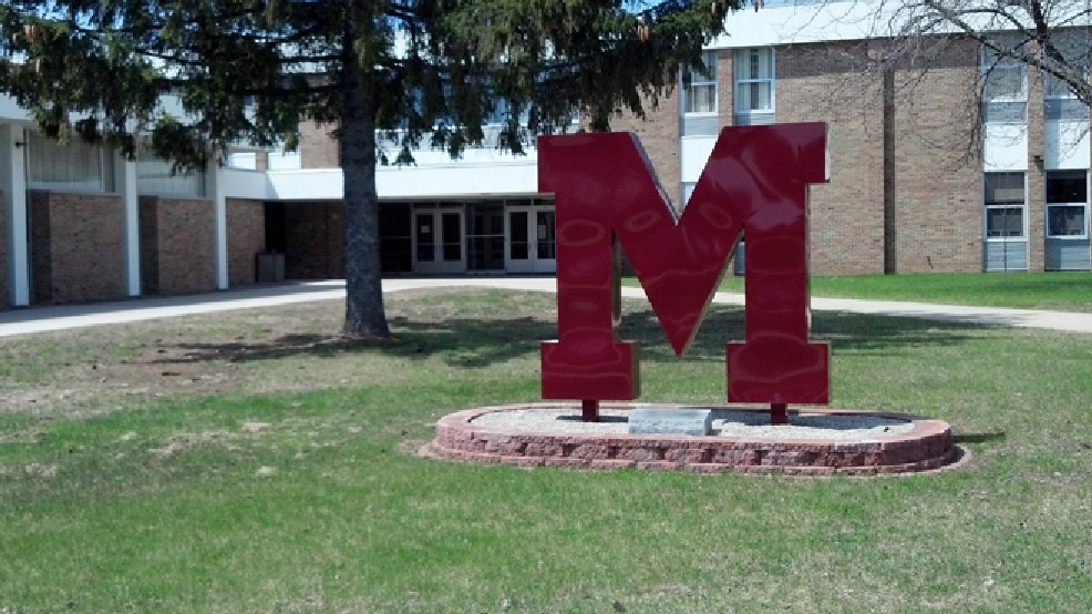 Menominee, Mich., High School is seen, May 6, 2014. (WLUK/Eric Peterson)