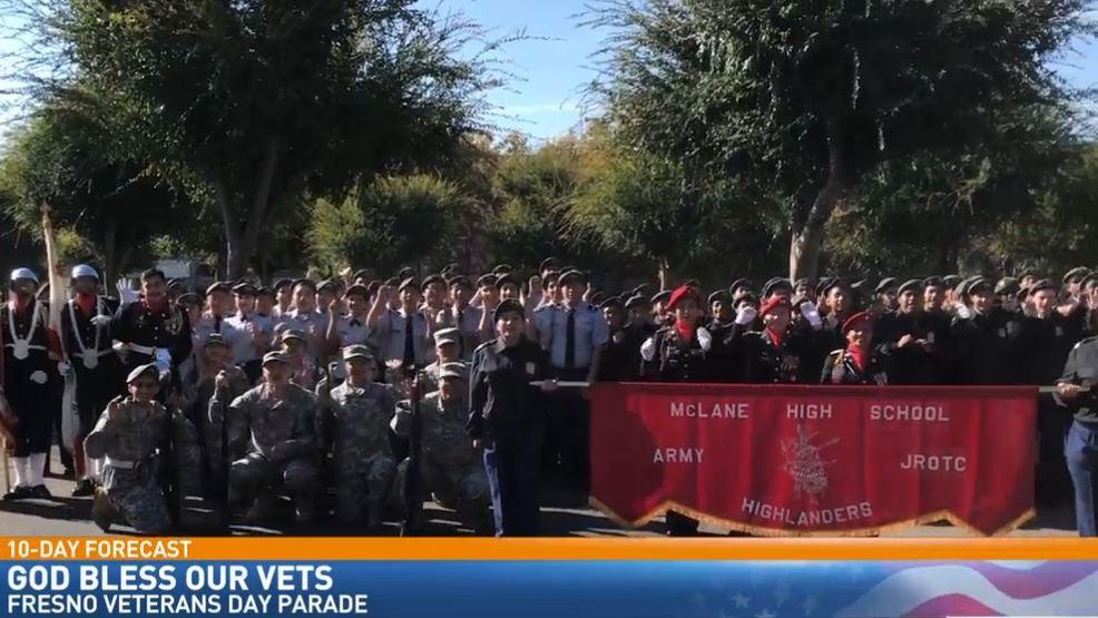 Day Forecast Fresno Veterans Day Parade KMPH - 10dayforecast