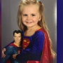 Deaf toddler's superhero outfit school picture warms hearts, goes viral