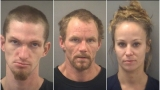 Three arrested for squatting after refusing to leave rental