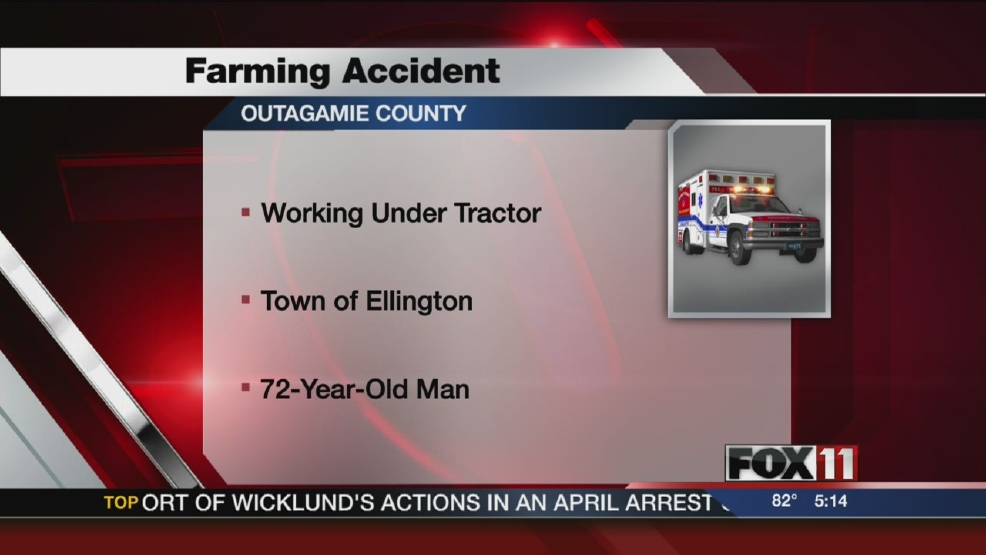 Fatal tractor accident in Outagamie County