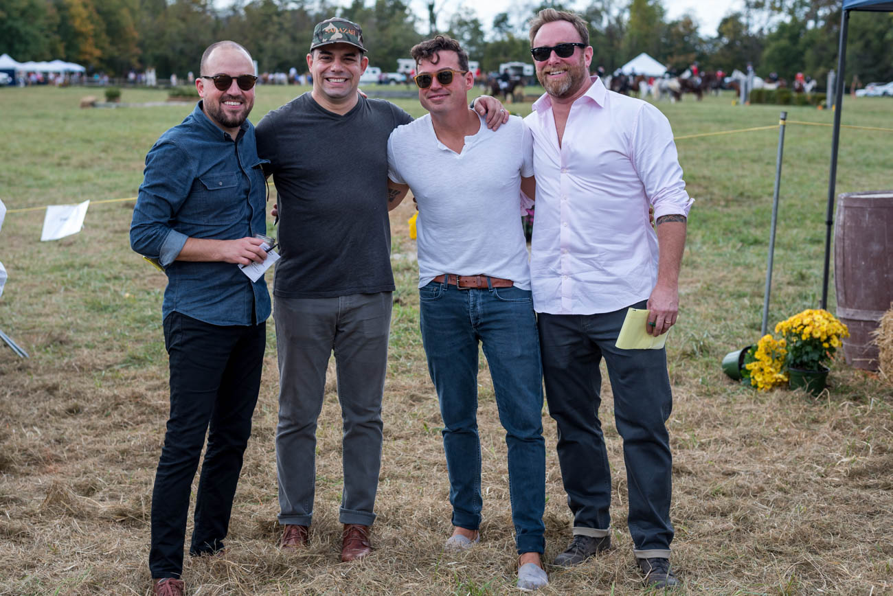 Kevin Hart, Jose Salazar, Jono Fries, and Dan Wright (judges for the Tailgate Competition) / Image: Mike Menke // Published: 10.8.17<p></p>