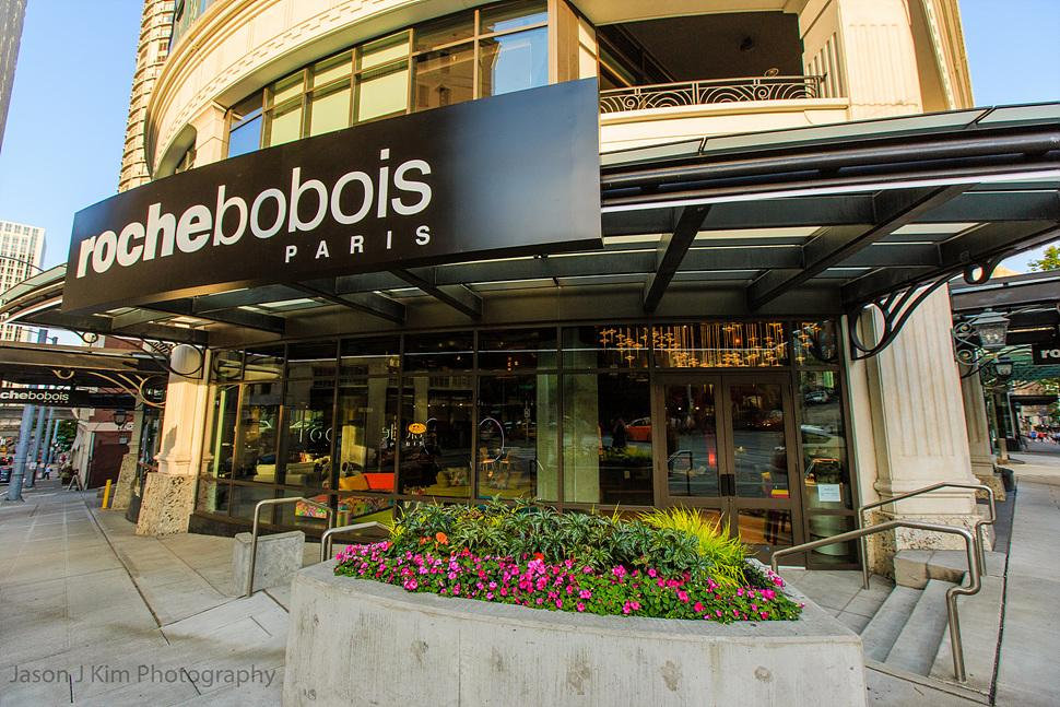 Roche Bobois the international furnishing company, is setting up shop at 4th and Virginia in downtown Seattle after being on Western Avenue for nearly 30 years. In the Escala building (internationally known as the 50 Shades of Grey building), their new space is almost 5,000 square feet and features exposed industrial ductwork, piping, concrete and exposed steel beams.  (Image: Jason Kim)