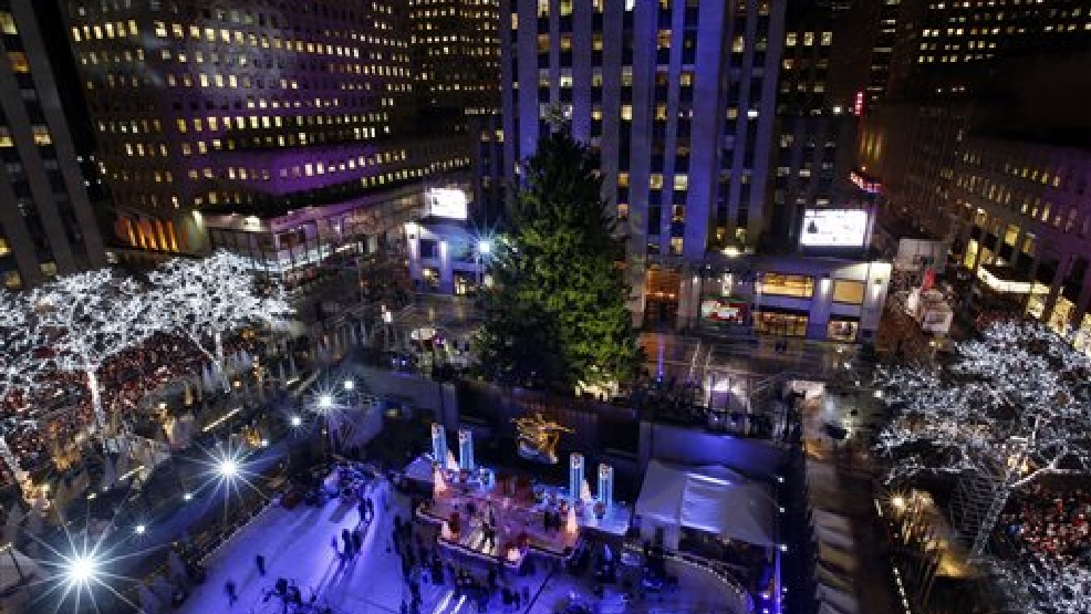 Thousands Gather For NYC Christmas Tree Lighting