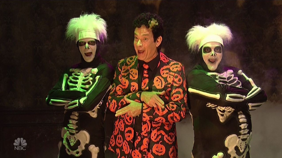Meet David Pumpkins, your new Halloween costume and everyone's new favorite SNL character