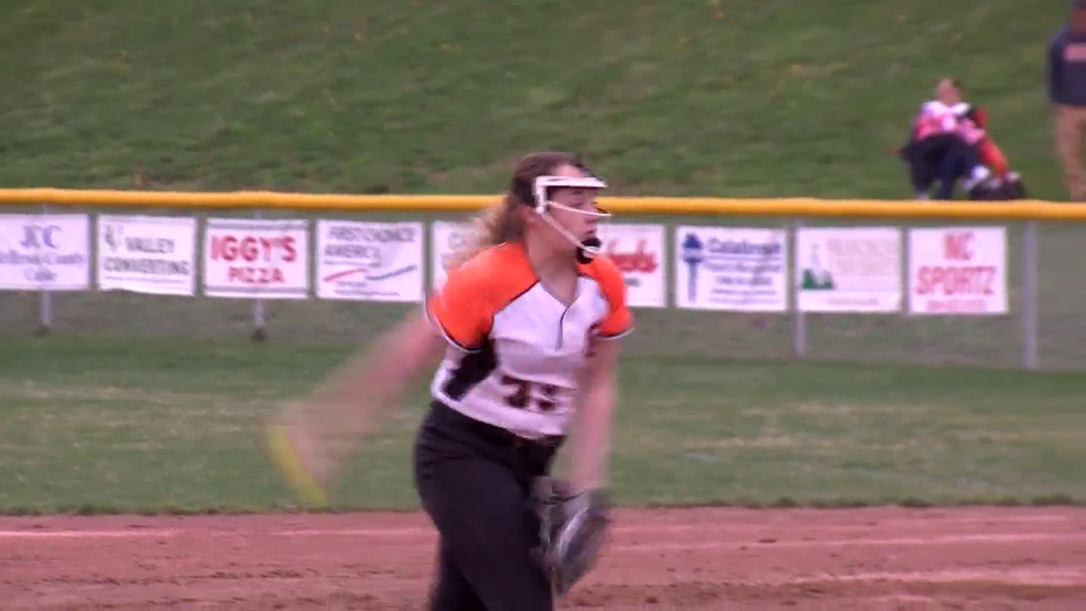 4.12.19 Highlights - Shadyside vs Toronto - high school softball