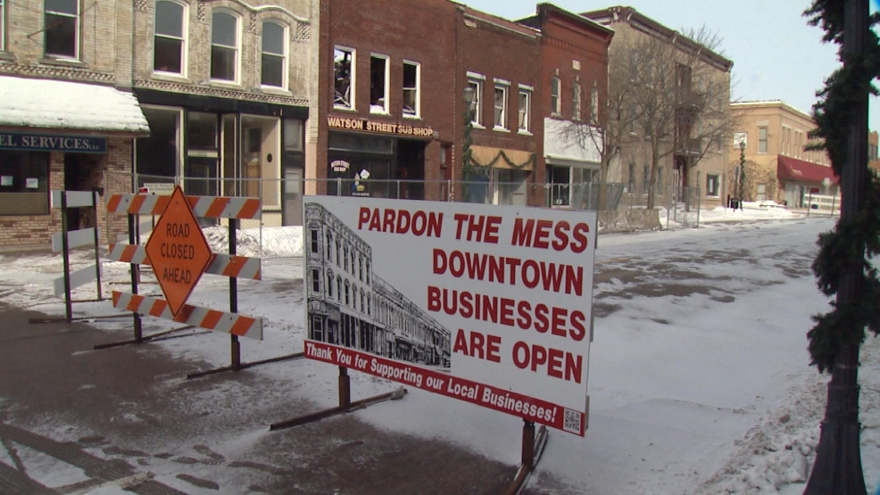 Watson Street in Ripon will reopen Friday, more than two months after a fire destroyed two downtown buildings.
