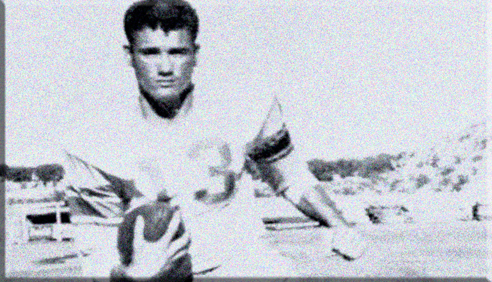 Don Maynard did it all at Texas Western, now UTEP. He could run, catch, return kicks and even kick extra points. In his three-year college career, Maynard amassed 2,283 all-purpose yards. He rushed for 843 yards, returned kicks for another 525 yards, returned 10 interceptions for 142 yards and recorded 773 yards receiving. (Courtesy of UTEP Athletics)