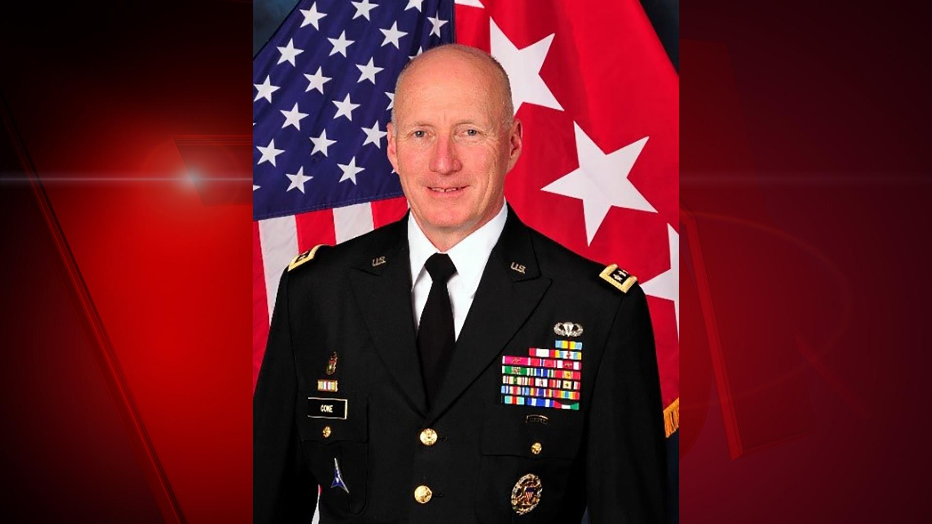 Four-Star General, Robert Cone (Photo courtesy of US Army/Jill Cone)