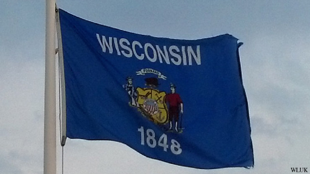 Wisconsin state flag (file photo)