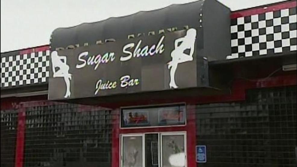 Couple club strip shack drink: the sugar