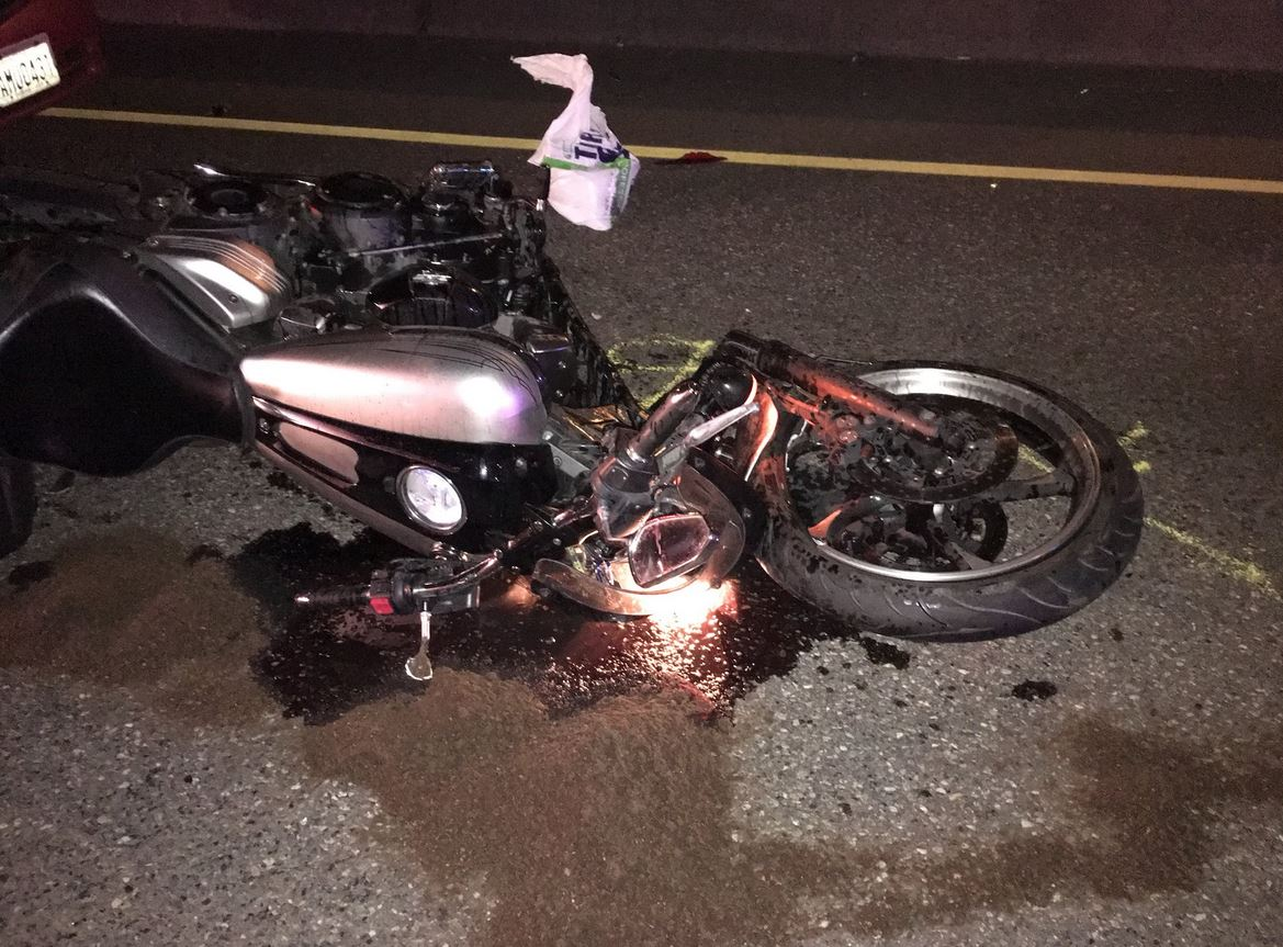 The State Patrol is investigating a crash involving a motorcycle that has shut down part of State Route 18 in Auburn Friday evening, Feb. 9, 2018. (Photo: WSP)