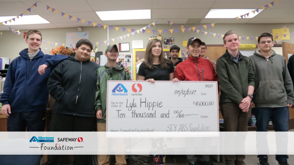 Safeway and Albertsons Innovation in Education Grant Winner