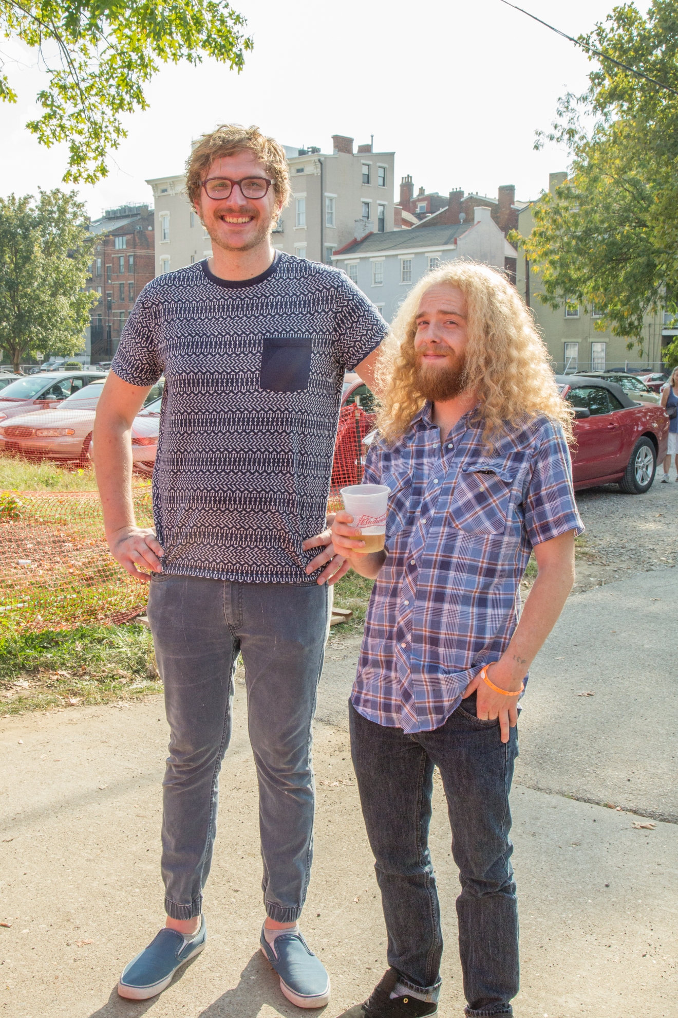 Alex Baker of Coconut Milk and Daniel Meeks / Image: Catherine Viox