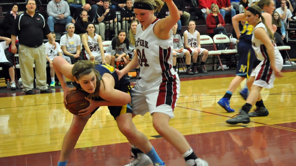 Sheboygan North defeated De Pere, 42-37, Friday night in girls basketball. (Doug Ritchay/WLUK)