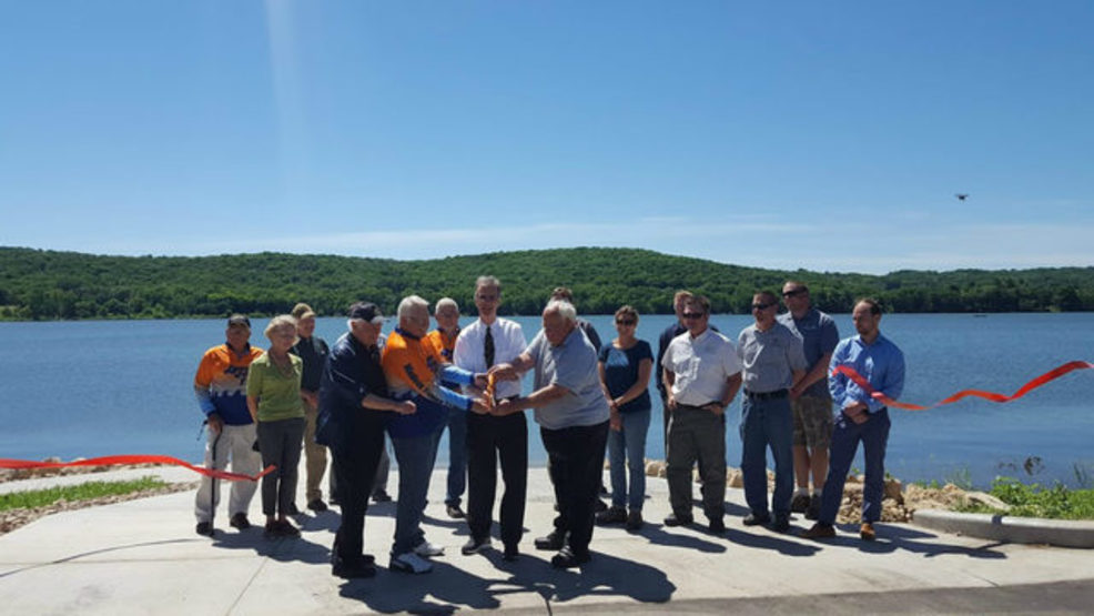 Lussier Boat Launch ribbon cutting.jpg