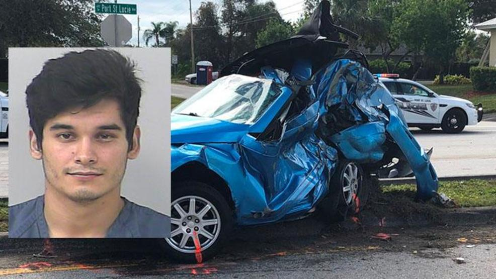 Man Charged In Fatal DUI Crash In Port St. Lucie