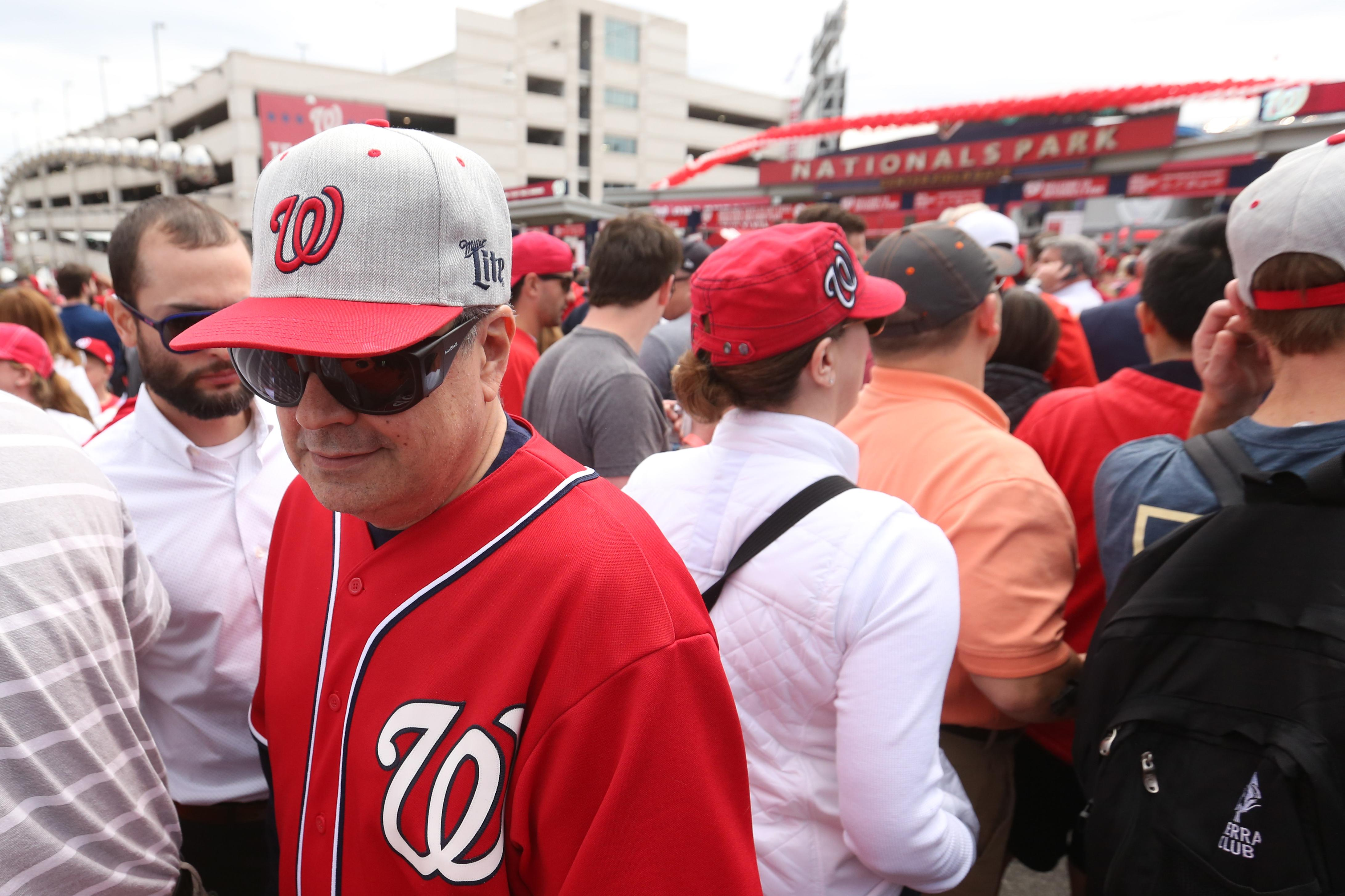 The Nationals opened their 2017 season surrounded by thousands of fans clad in red and navy. The home team faced off against the Marlins on April 3, but the Opening Day ceremonies brings together fans of all ages - no matter the outcome of the game. (Amanda Andrade-Rhoades/DC Refined)