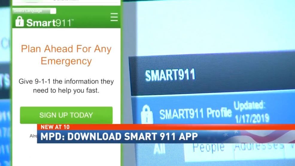 Mobile police urge residents to download Smart 911 app after