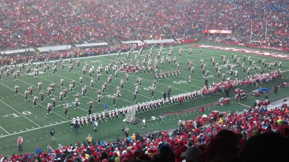 The University of Wisconsin Marching Band performs at a Wisconsin Badgers game at Camp Randall Stadium, Nov. 16, 2013. (File photo/WLUK)