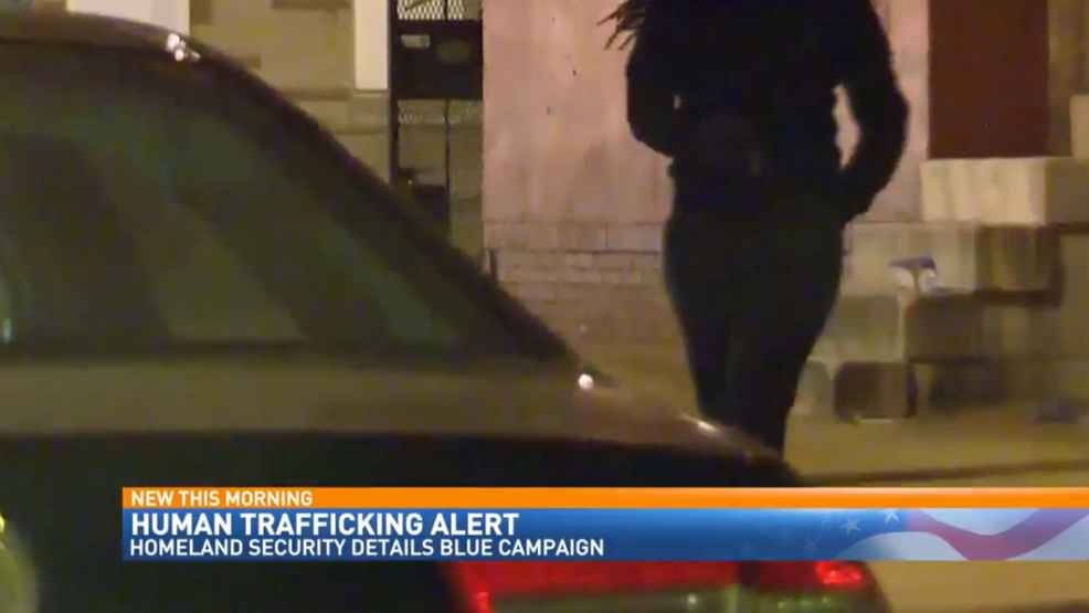 Homeland Security warns to watch out for human trafficking