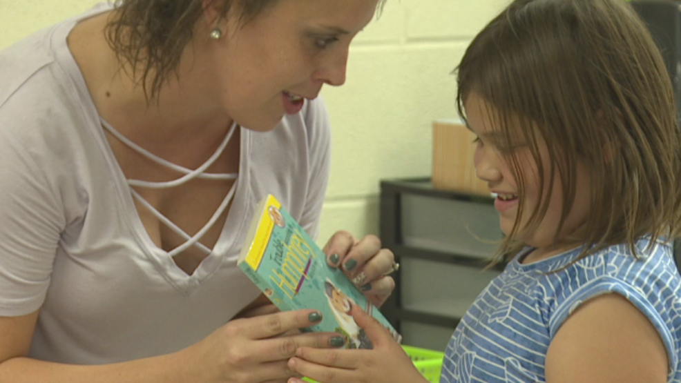 'It's almost magical': New book vending machine operates on reward-system for students