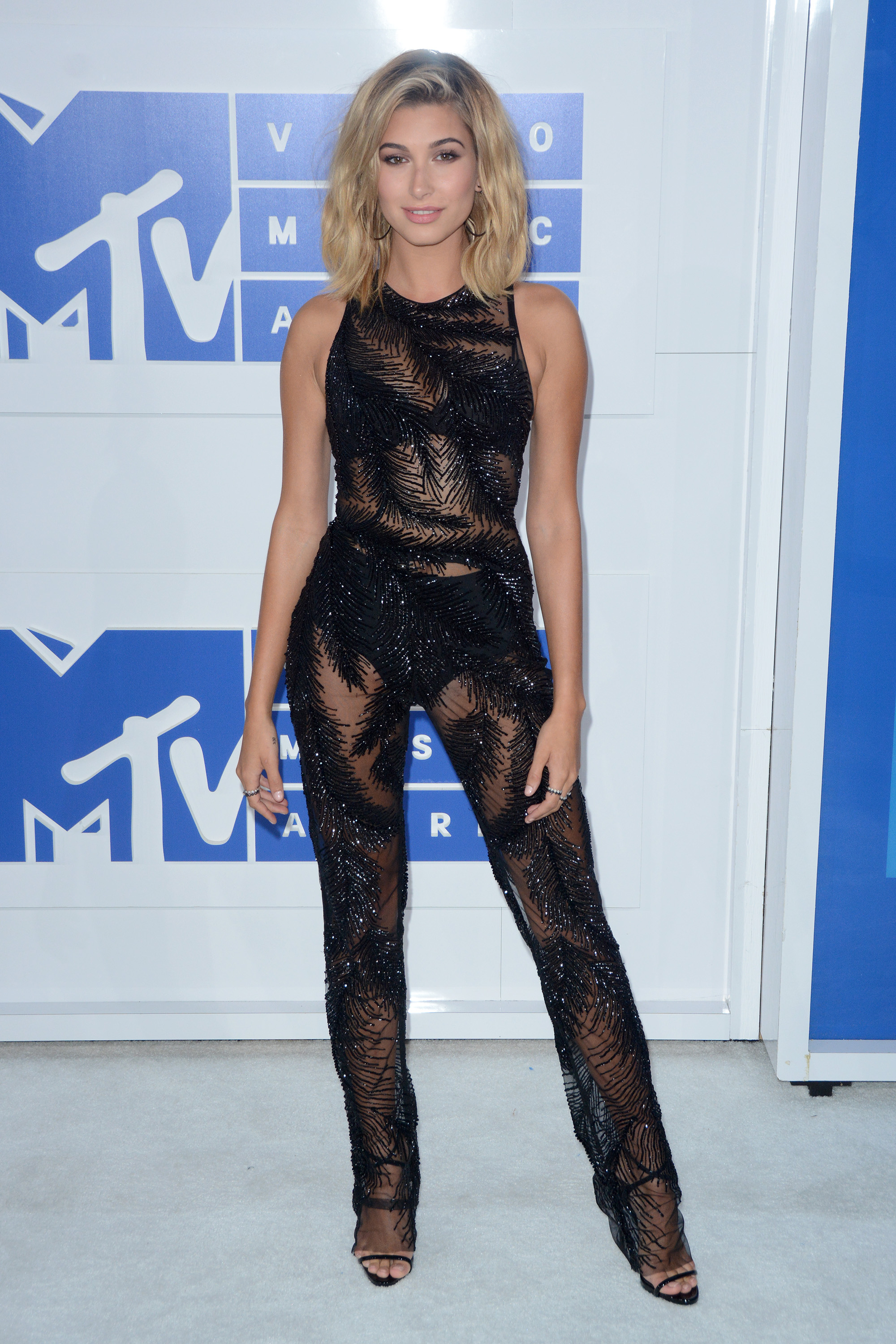 2016 MTV Video Music Awards - Red Carpet Arrivals                                    Featuring: Hailey Baldwin                  Where: New York, New York, United States                  When: 29 Aug 2016                  Credit: Ivan Nikolov/WENN.com