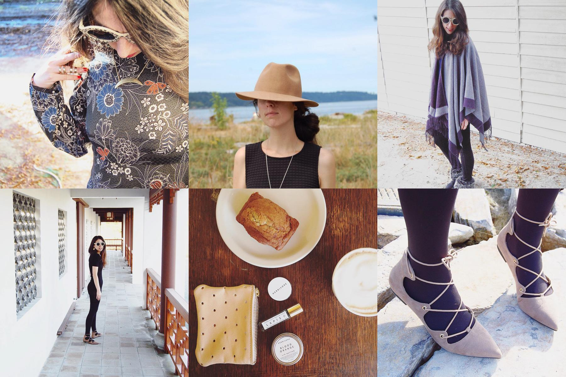 Lisa Dawn Drogin's Instagram has a very vintage feel with a lot of 70s inspiration. Wether she is thrifting some great pieces or showing off her accessories she is full of fashion ideas so give her at follow. (Images courtesy of @storyofmydress)