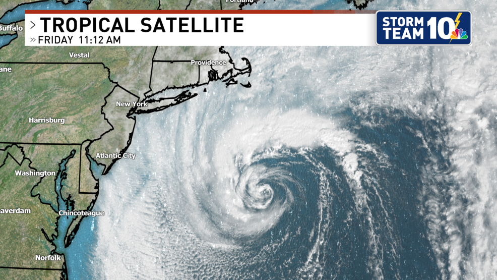 Subtropical Storm Melissa forms off the New England coast