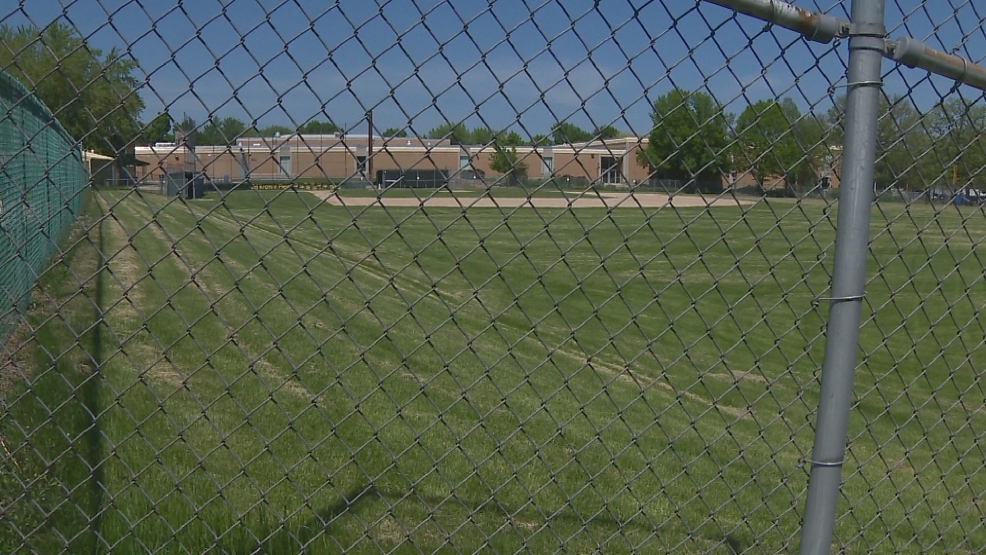 This baseball practice field in Ashwaubenon has been closed due to possible PCB contamination.