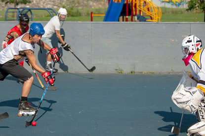 The Covington Street Hockey League Plays To Save Their