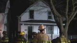 Seven displaced after Sawyer St. fire