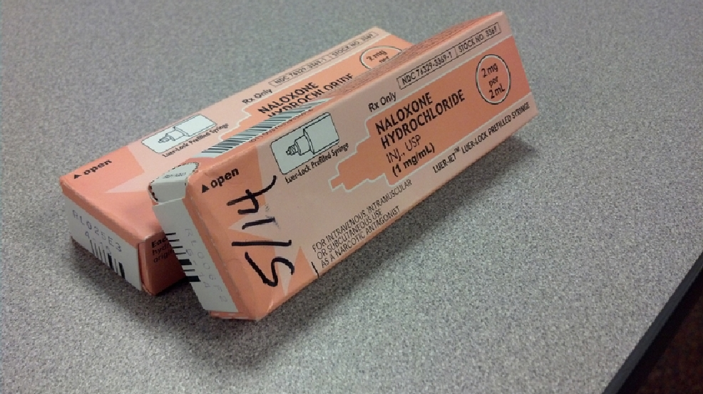 File photo of Narcan. (WLUK/Eric Peterson)