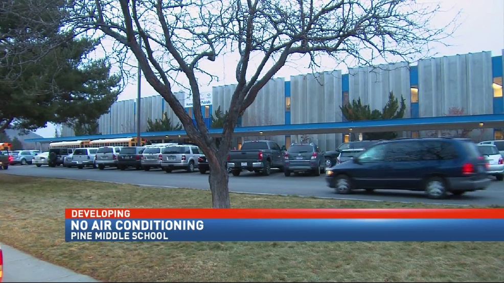 Air Conditioning Out Of Service At Pine Middle School Krnv