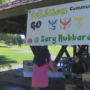 Locals play Pokemon Go and collect canned goods for food bank