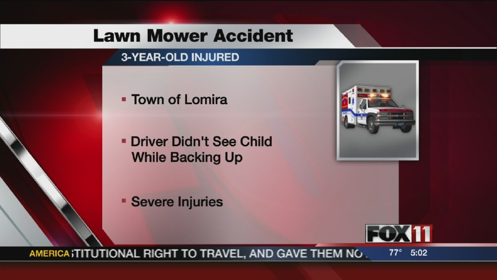 Child injured in Dodge Co. lawn mower accident